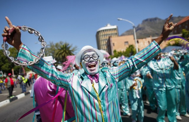 Artists and fans at a 2019 Cape Town Kaapse Klopse. Photo supplied