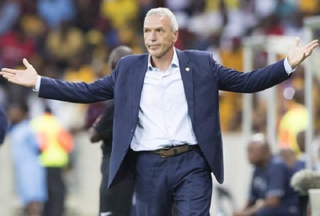 Kaizer Chiefs Football Club Head Coach Ernst Middendorp