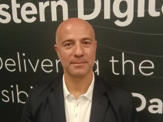 Western Digital Sales Director for Africa, Ghassan Azzi. Photo by Savious Kwinika, CAJ News Africa