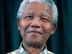 Former South African president, Nelson Mandela. File photo