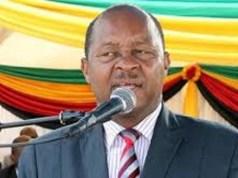 Zimbabwe Minister of Health, Dr Obadiah Moyo