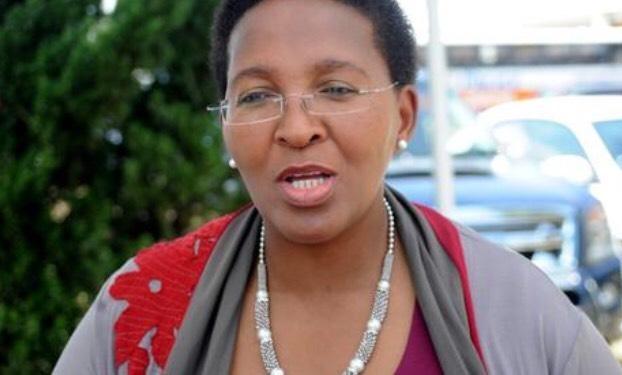 Gauteng Member of the Executive Council (MEC) for Safety, Faith Mazibuko
