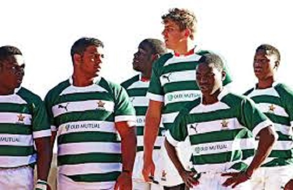 Zimbabwe's Sables rugby team