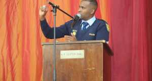Sergeant Jason Rhoda, Stellenbosch Football Club's Multichoice Diski Challenge (MDC) coach. Photo, CAJ News Africa