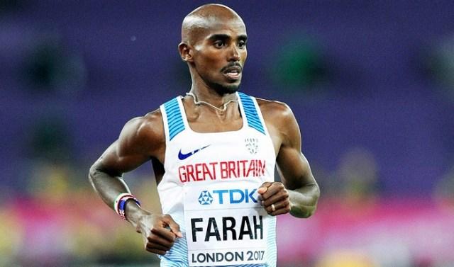 British long-distance runner, Sir Mohamed 'Mo' Farah
