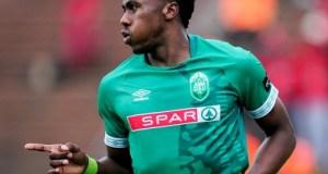 AmaZulu FC's deadly striker, Bongi Ntuli