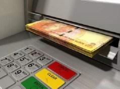 Money dispensing machine