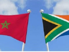 Flags, Morocco, South Africa