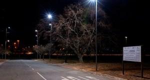 GIZ-SAGEN Programme: The completed Innovation Hub street lighting installation; Pretoria, South Africa. 21 August 2019 - Photo by Brett Eloff.