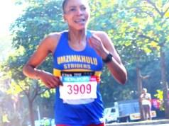 Female athlete Glenrose Xaba