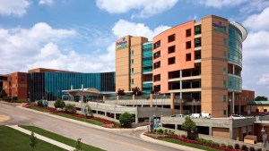 A current photo of Children's Hospital and Medical Center.