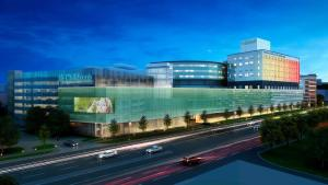 Children's Hospital and Medical Center is currently being expanded, the addition of the Hubbard Center for Children is currently under construction.