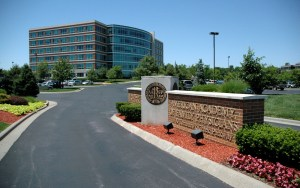 The headquarters of American Academy of Family Physicians in Leawood, Kansas.