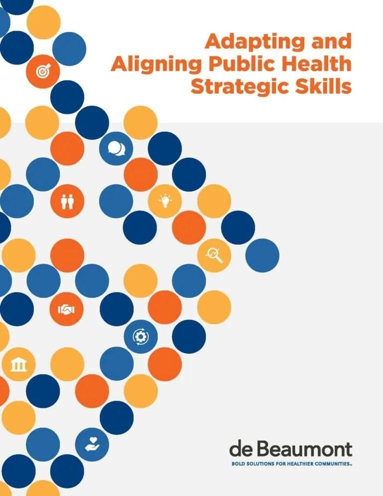 Adapting and Aligning Public Health Strategic Skills Report Image