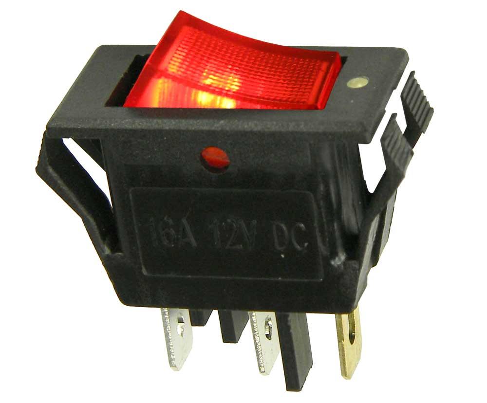 medium resolution of spst rocker switch 12v lighted mpjacom