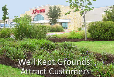 landcaping shopping centers