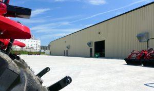 Chattanooga Tractor Mahindra Shipping Facility