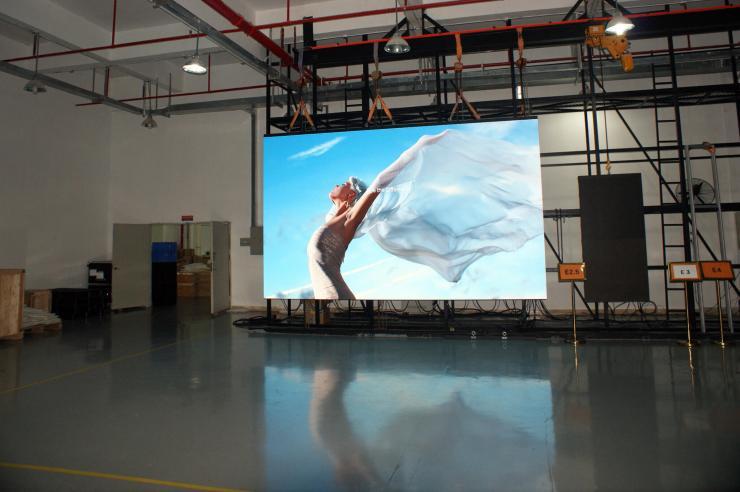 led screen indoor