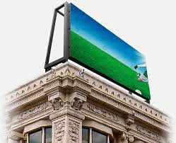 p10 outdoor full color led display in severe weather
