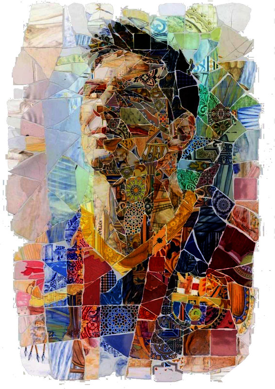 Lionel Messi Prisma Glass Art