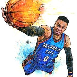 Russell Westbrook Dank Art
