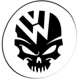 VolksWagen Νεκροκεφαλή Λογότυπο Στάμπα