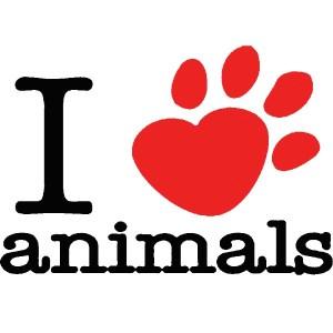I Love Paw Animals