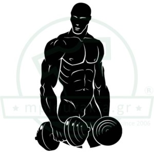 Weightlifting Bodybuilding Εκτύπωση Μπλούζα