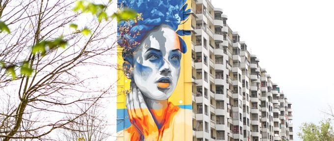 Street-art: la beauté universelle de Dourone aux Coteaux