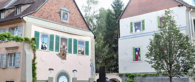 La fresque Les Mulhousiens retrouve sa jeunesse