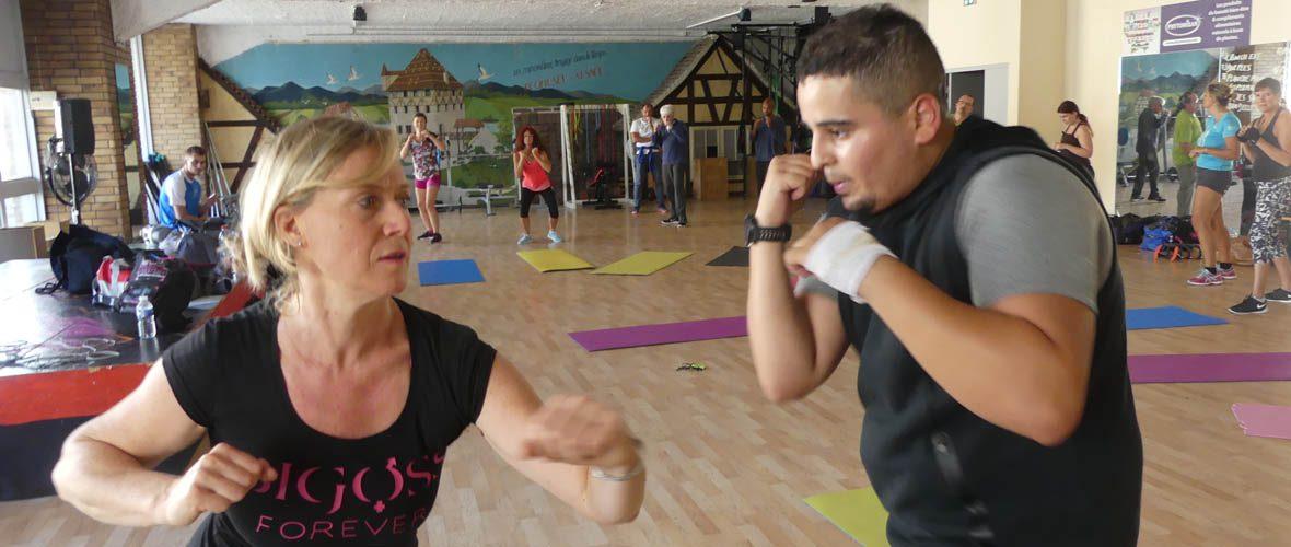 Pratiques sportives ouvertes: on a testé le cardio-boxing!   M+ Mulhouse