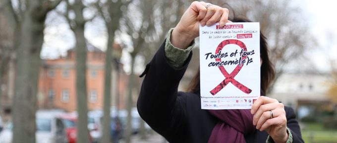Sida: un samedi de mobilisation pour ne pas banaliser