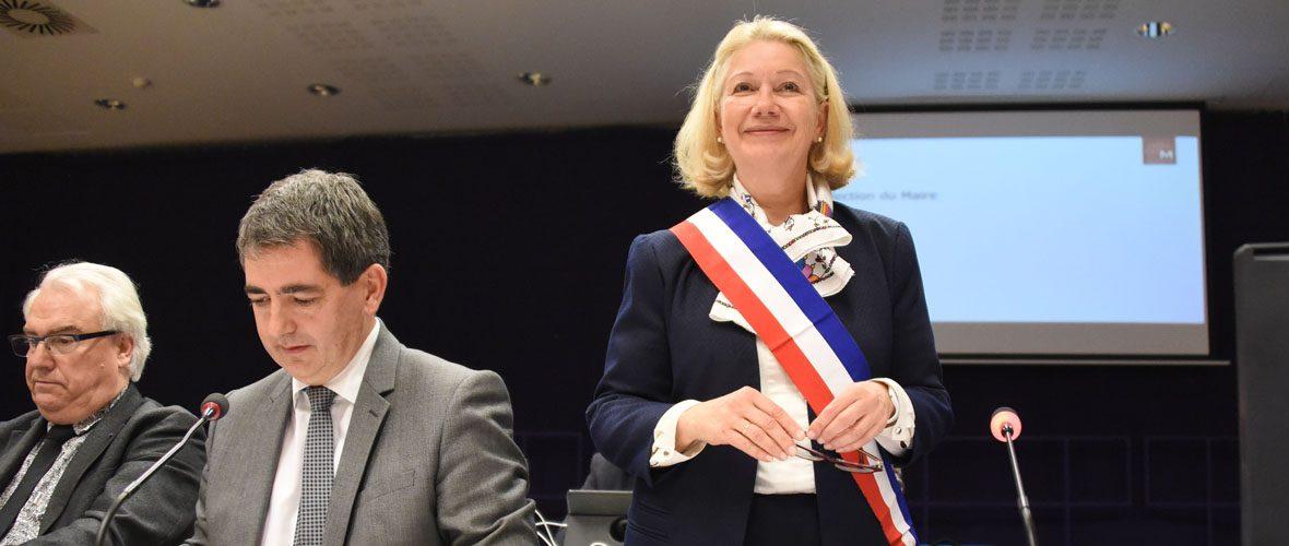Michèle Lutz élue maire de Mulhouse   M+ Mulhouse