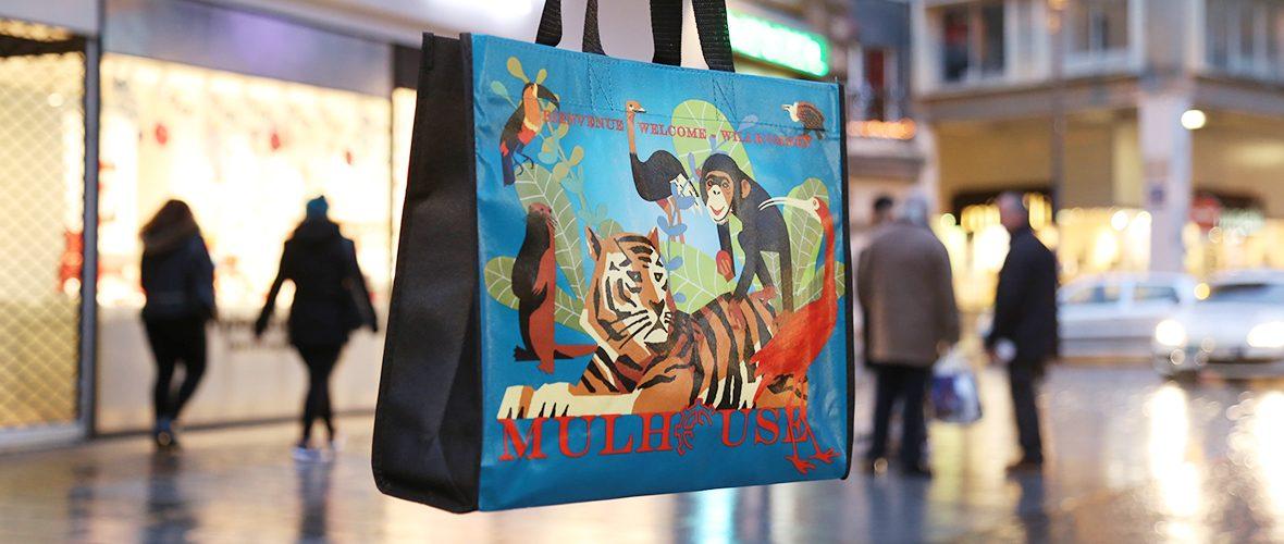 Le sac shopping du Cœur de Mulhouse est arrivé! | M+ Mulhouse