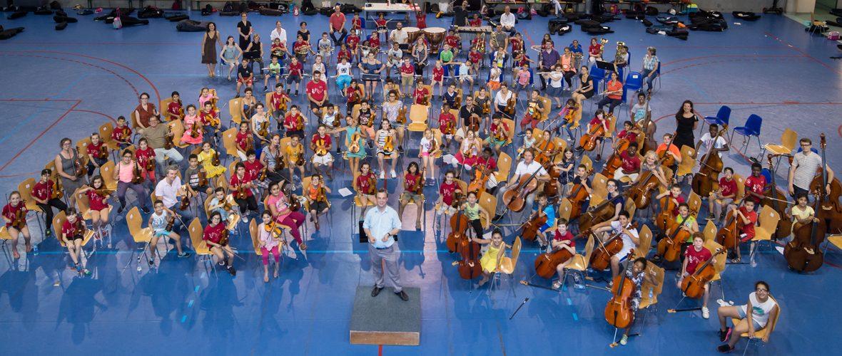 Premier concert grand public pour les jeunes musiciens de Démos   M+ Mulhouse