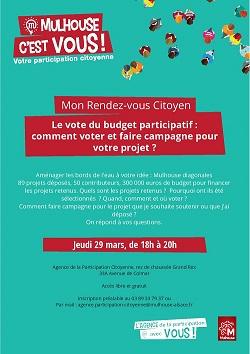 RDV Citoyen : aménager les bords de l'eau à votre idée, Mulhouse Diagonales