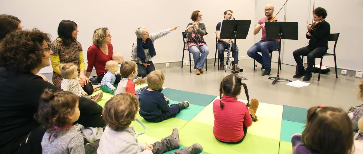 0-3 ans : à la découverte de l'Orchestre symphonique de Mulhouse | M+ Mulhouse