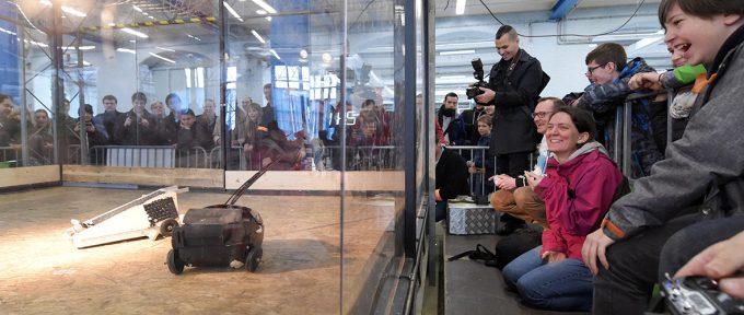 Makerfight : combats de robots ce week-end!