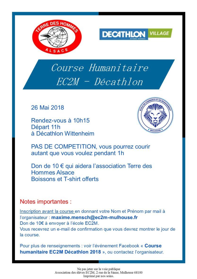 Course Humanitaire EC2M