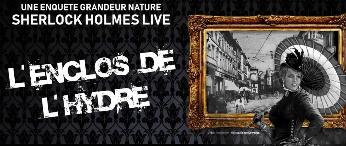 Sherlock Holmes Live: L'enclos de l'hydre