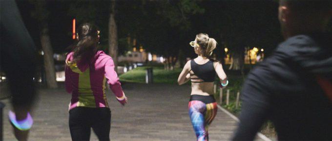 Light run, première course fluo de nuit dans les rues du centre-ville de Mulhouse