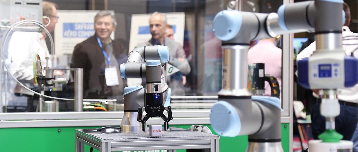 Robots et business au Salon Industrie du futur   M+ Mulhouse