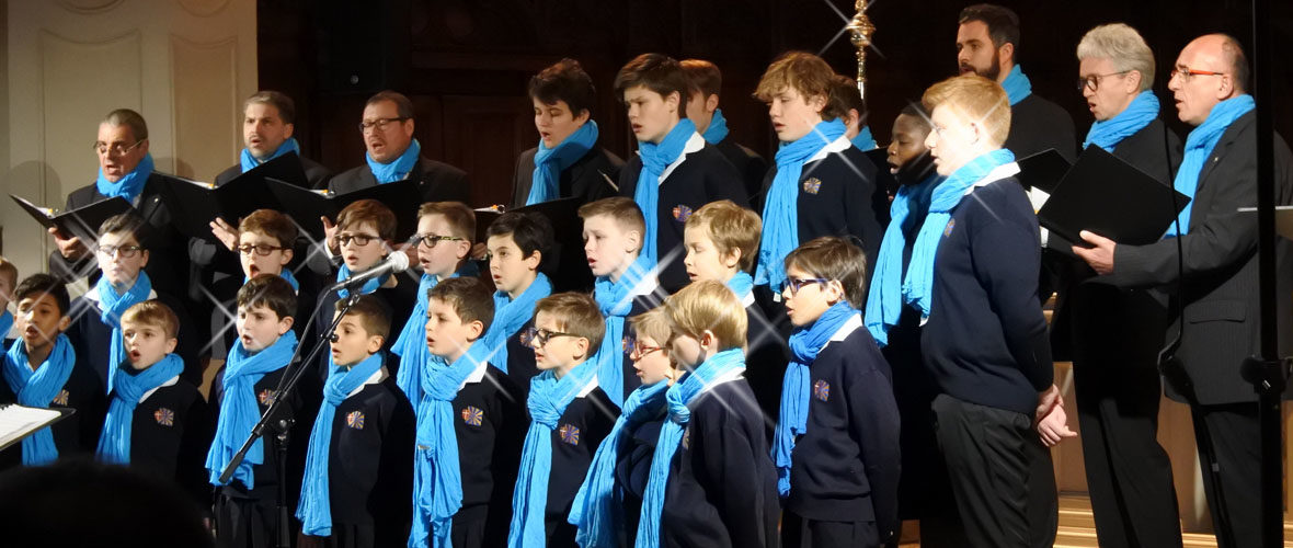 Chœur de garçons de Mulhouse : 40 voix pour la paix   M+ Mulhouse