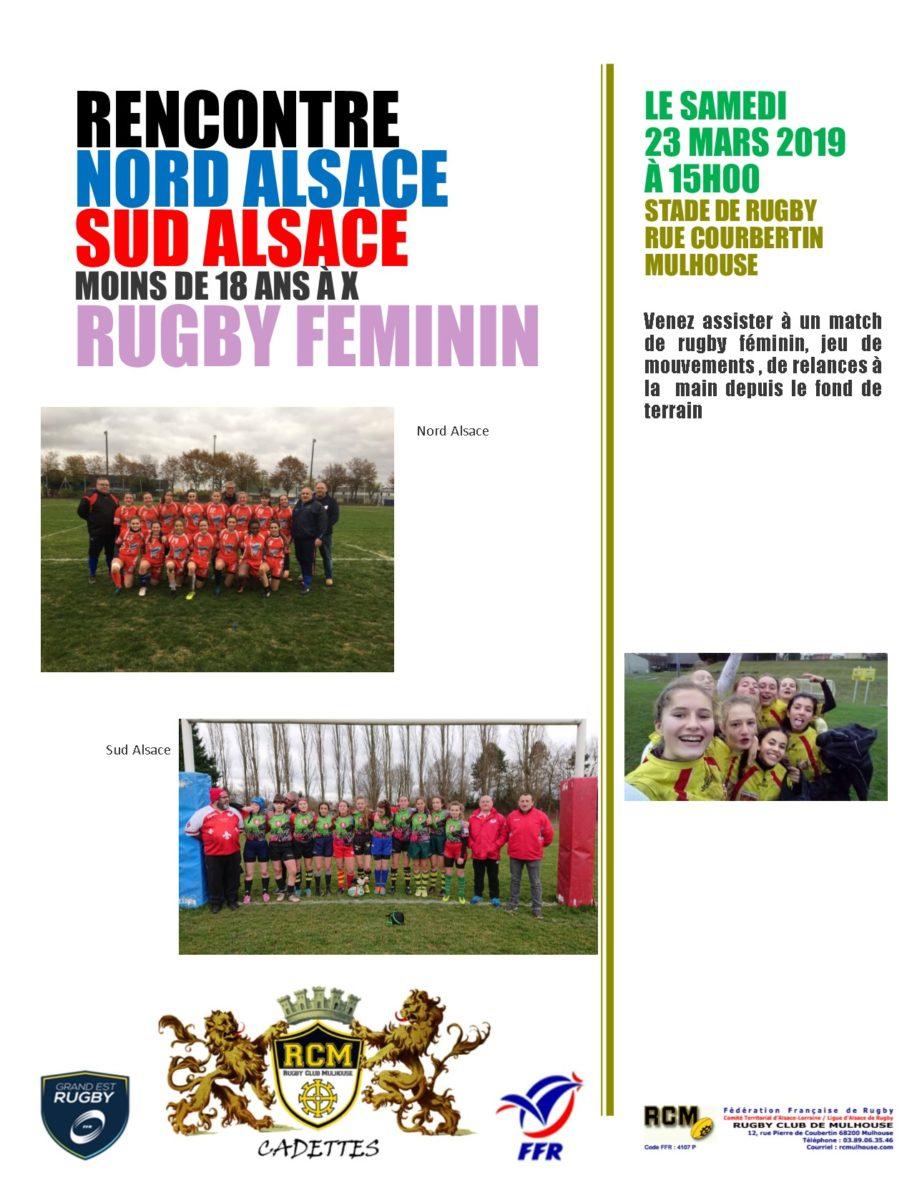 Rugby Féminin Cadettes