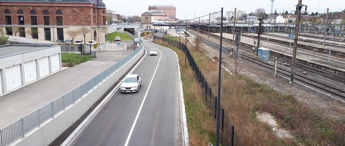 Le tunnel de la Voie Sud fermé du 15 au 18 avril | M+ Mulhouse