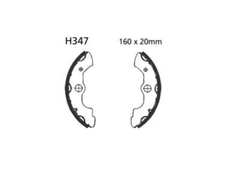 Motorcycle Brake Pads And Shoes For Honda TRX