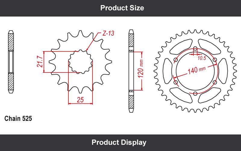 Custom aftermarket parts Suzuki GSXR 600 chain and