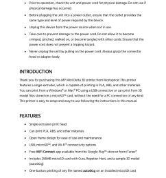 mp mini delta user s manual page 4 [ 1700 x 2200 Pixel ]