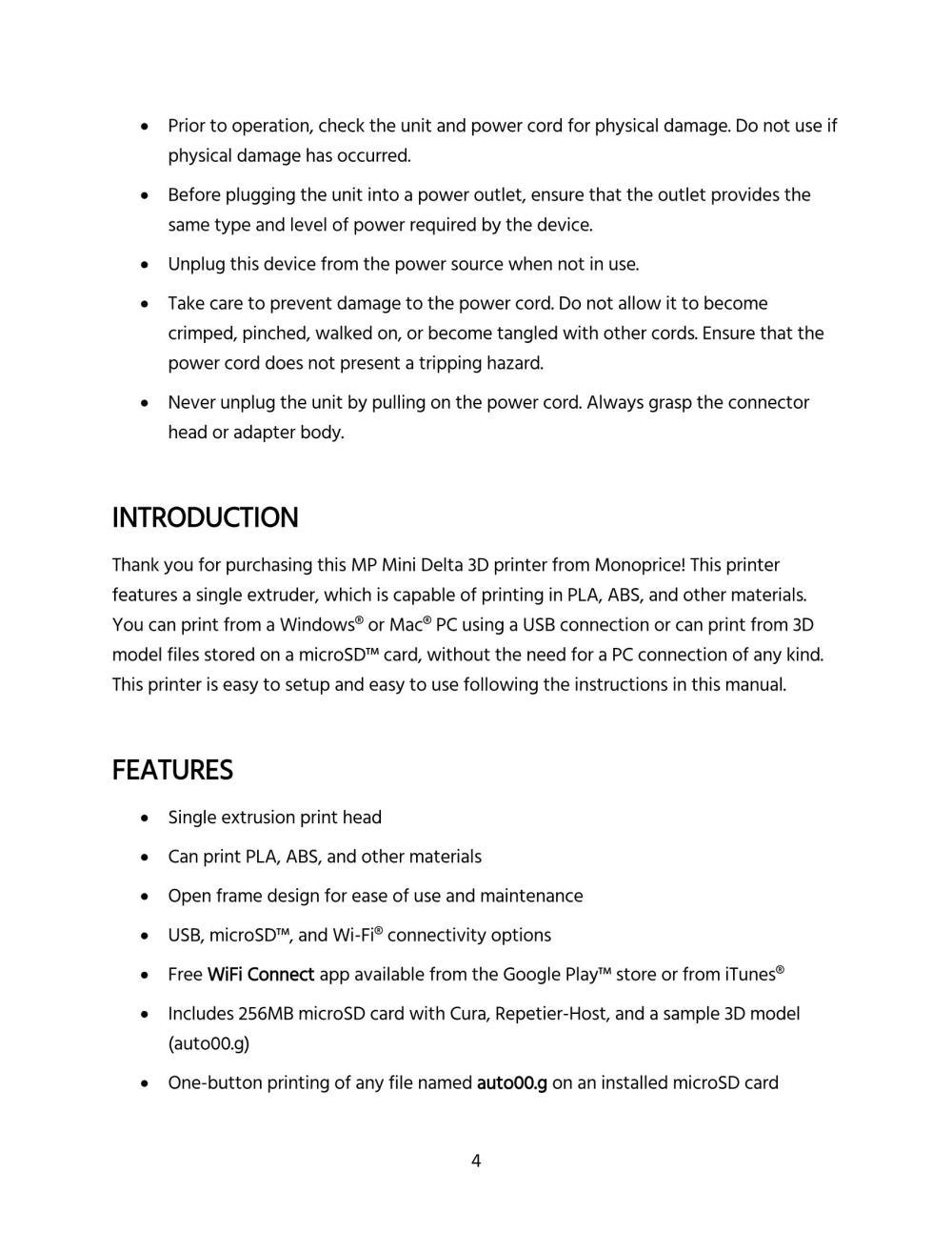 medium resolution of mp mini delta user s manual page 4