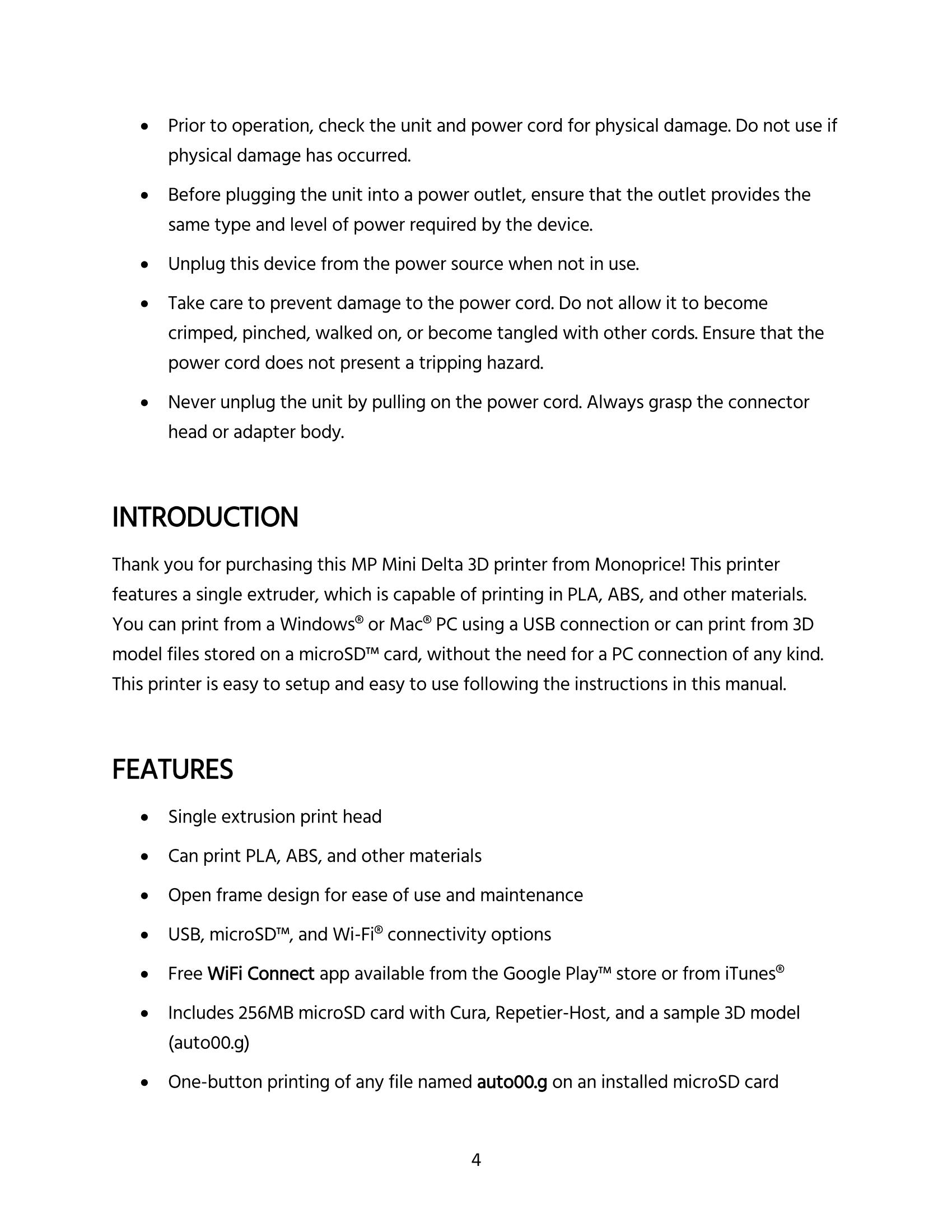 hight resolution of mp mini delta user s manual page 4